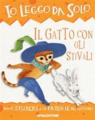De Agostini Il gatto con gli stivali. Con adesivi. Con App per tablet e smartphon