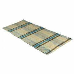 Cocoon - TravelSheet Cotton Flanell - Reisslaapzak maat 220 x 90 cm, grijs/beige