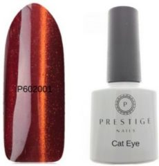 Oranje Prestige nails Prestige Cat Eye Gelpolish Orange Fire