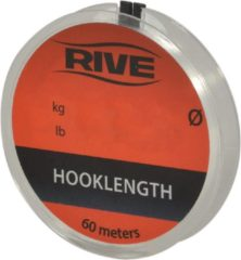 Transparante Rive Hooklength - 0.06mm - 60m
