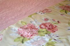 Roze Satijnen dekbedovertrek Palau - 140x200/220 - Dommelin