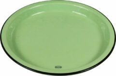 CABANAZ - bord, keramiek, LARGE PLATE, groen