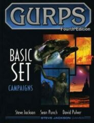 Steve Jackson Games Gurps Basic Set Campaigns RPG