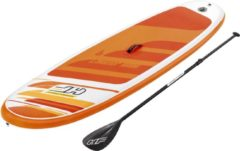 Oranje Bestway Sup Board - Hydro Force - Aqua Journey Set - 274 x 76 x 12 cm - Met Accessoires