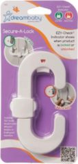 Witte Dream baby Dreambaby Secure-A-Lock EZY-check