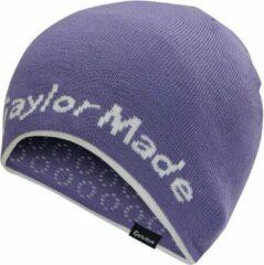 TaylorMade Reversable Ladies Beanie - Paars Wit