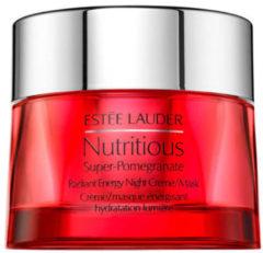 Estée Lauder Nutritious Super-Pomegranate Radiant Energy - nachtcrème & masker
