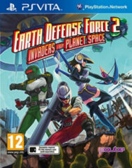 Pqube Earth Defense Force 2: Invaders From Planet Space PS Vita (74695)