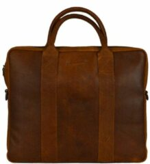 DSTRCT Main Street Workingbag 13.3'' cognac