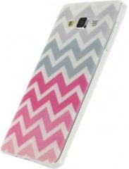 Xccess TPU Case Samsung Galaxy A7 Wave Pink/Grey - Xccess