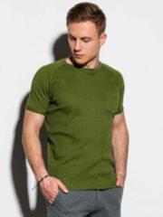 Groene Ombre T-shirt heren s1182 olive