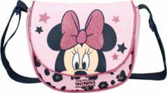 Disney Minnie Mouse Talk Of The Town Schoudertas - 1,9 l - Roze