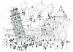 Akena Italy Legpuzzel Pisa getekend door Fabio Vettori 1080 stukjes