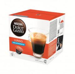 Nescafe Dolce Gusto Dolce Gusto Lungo Decaffeinato 3 x 16 cups: Cups & Capsules