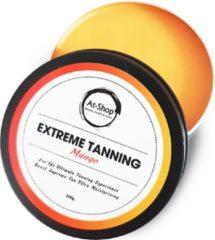 Extreme Tanning | Shine Brown | Tanning butter| Zonnestralen | Zonnebank | At-Shop | Sneller bruin | Zonnecreme | Zonnebrand| Mango