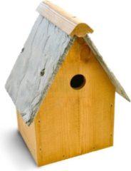 Antraciet-grijze Tom Chambers Oakwell vogelhuisje - FSC hout - 28 mm