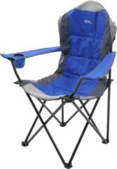 Regatta Campingstoel Kruza 105 Cm Polyester/staal Blauw/zwart/grijs