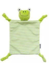 Woezy - Knuffeldoekje Kermit - Kikker - Groen - Knuffeldoekje - Kraamcadeau - Baby - Jongen - Meisje