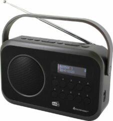 Zwarte Soundmaster DAB270SW Desk radio DAB+, FM AUX, DAB+, FM Black