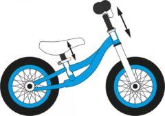 Blauwe DARPEJE FUNBEE - Loopfiets met rem