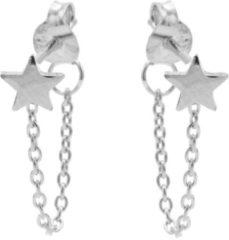 Karma Jewelry Karma Oorbellen Chain Star Zilver