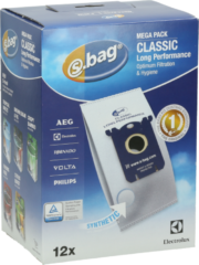 Aeg, Aeg electrolux, Electrolux, Philips Electrolux S-Bag Classic Long Performance Staubsaugerbeutel Mega Pack E201M 9002560994