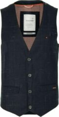 No Excess Gilet - Modern Fit - Blauw - 50