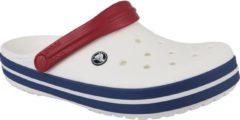 Crocs Crockband 11016-11I, Unisex, Wit, Slippers maat: 45/46 EU