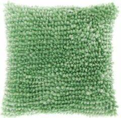 Groene Unique Living sierkussen Max 45x45 Neo Mint