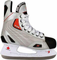 Witte Nijdam 3385 IJshockeyschaats - Deluxe - Grijs/Zilver - Maat 42