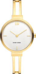 Gouden Danish Design edelstalen dameshorloge Barbara Gold IV05Q1265