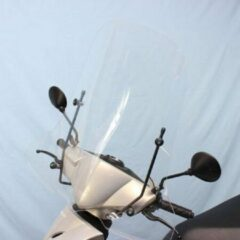 Scoot Care Original Windscherm Kymco Agility, 10/12 inch, in A kwaliteit, helder hoog model.
