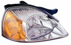 KIA KOPLAMP RECHTS H4 enkel vanaf 2002 , Oranje Knipperlicht inclusief MOTOR