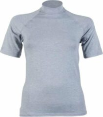 RJ Bodywear Dames T-Shirt Thermo grijs mt L