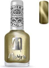 Gouden Moyra Stamping Nail Polish 12ml SP31 CAT EYE GOLD