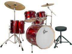 Gretsch Drums GE2-E825TK-WR GE2 Energy drumstel rood