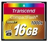 Transcend Information Transcend Ultimate - Flash-Speicherkarte - 16 GB TS16GCF1000