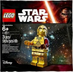 Gouden Lego Star Wars Force Awakens Polybag