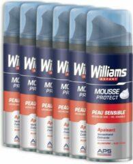 Williams Shaving Foam Sensitive 200ml 6x