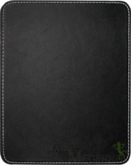 LogiLink Mousepad in leather design, Black (ID0150) - LogiLink