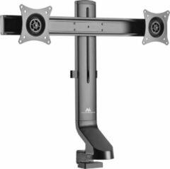 Grijze Monitorhouder voor 2 schermen 17-27 Maclean MC 854