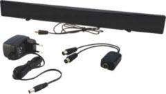 Schwaiger DTA1000 011 - DVB-T Zimmerantenne für UKW/VHF/UHF inkl. Signaltrenner, aktiv max. 45 dB