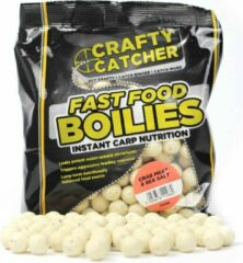 Crafty Catcher Fast Food Crab Meat & Sea Salt | Boilies | 15mm | 500g