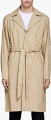 RAINS Women's Overcoat - Desert - XS-S - Beige