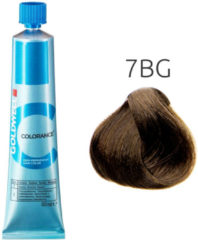 Goldwell - Colorance - Color Tube - 7-BG Mid Blonde Beige Gold - 60 ml