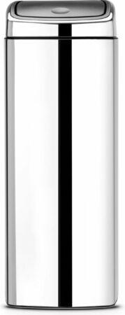 Afbeelding van Brabantia Touch Bin Prullenbak - 25 l - Brilliant Steel
