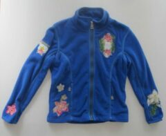 Bogner Nehle Fleece Trui met borduursels - Blauw - Maat s / 110 -116