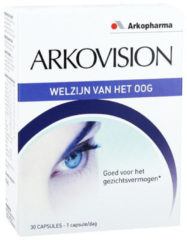 Arkocaps Arkopharma Arkovision capsules - Voedingssupplement