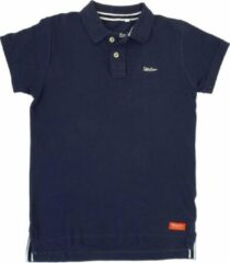 Blauwe Strong .. Polo Regular Fit Navy Blue - Maat S - Off Side - incl. Gratis rugzak