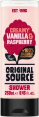 Original Source Creamy Vanilla & Raspberry (250ml)